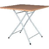 Bistrotisch GLADS mit Klappgestell GLIT,  melaminharz beschichtete Tischplatte