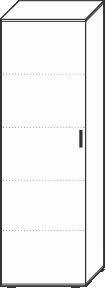 5 Ordnerhöhen (180,5 cm hoch), 60 cm breit