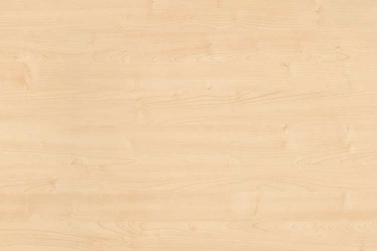 Tischplatte melaminharzbeschichtet, 120 x 60 cm, Plattenstärke: 25 mm, Dekor: Ahorn