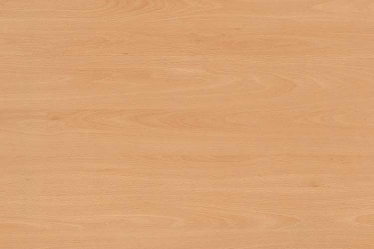 Tischplatte 130 x 60 cm, Plattenstärke: 19 mm, Dekor: Buche, melaminharzbeschichtet
