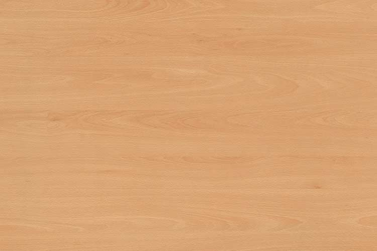 Tischplatte 130 x 60 cm, Plattenstärke: 25 mm, Dekor: Buche, HPL