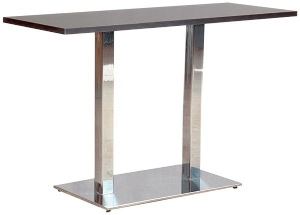 Stehtisch SJOM mit Säulengestell SJO, Bistrotisch, melaminharz beschichtete Tischplatte