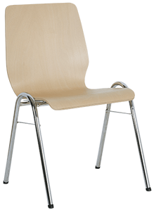 Sitzschale A + Gestell 1