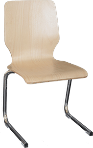 Sitzschale A + Gestell 4